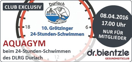 Club Exclusiv: Aquagym im Hallenbad Grötzingen