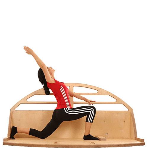 BeinMobi: Training für Muskellängen, Hüftbeuger, Bauch und vordere Oberschenkel für erhöhte Beweglichkeit.