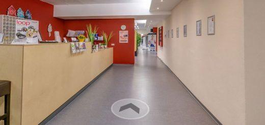 Rundgang im dr.bientzle Gesundheitsclub Grötzingen