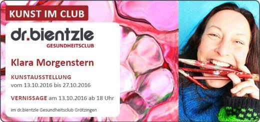 Kunstausstellung von und mit Klara Morgenstern im dr.bientzle Gesundheitsclub Grötzingen