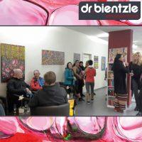 Sport meets Kunst – bei der Vernissage von Klara Morgenstern im dr.bientzle Gesundheitsclub Grötzingen