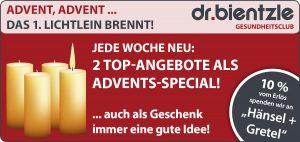 Sportliche Angebote zum 1. Advent im dr.bientzle Gesundheitsclub Grötzingen