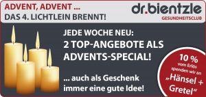 Sportliche Angebote zum 4. Advent im dr.bientzle Gesundheitsclub Grötzingen
