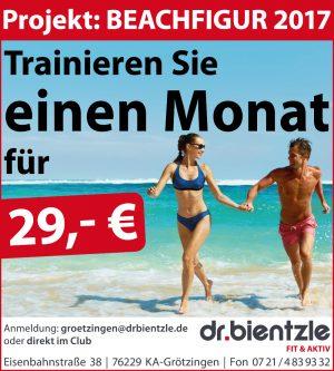 Projekt Beachfigur 2017: 4 Wochen Training für 29 Euro