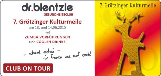 dr.bientzle Gesundheitsclub Grötzingen auf der 7. Grötzinger Kulturmeile