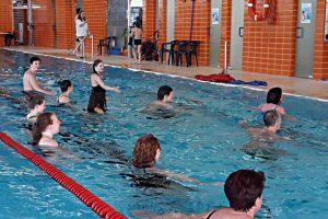 Aquagym exklusiv für Mitglieder vom dr.bientzle Gesundheitsclub Grötzingen.