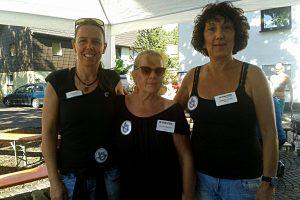 Die Mitarbeiterinnen vom dr.bientzle Gesundheitsclub auf der 7. Grötzinger Kulturmeile