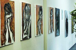 Die Werke von Pavel Miguel Jimenez Alfonso im dr.bientzle Gesundheitsclub Grötzingen