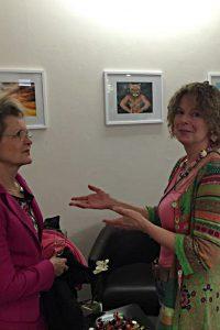 Interessante Gespräche mit der Künstlerin Ann-Kathrin Busse