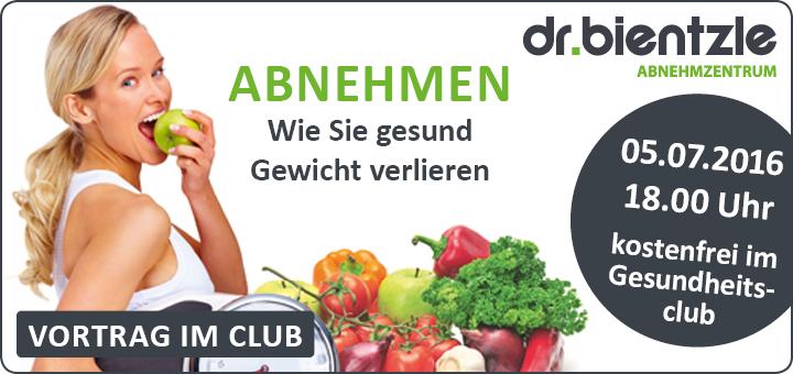 Vortrag: ABNEHMEN - Wie Sie gesund Gewicht verlieren