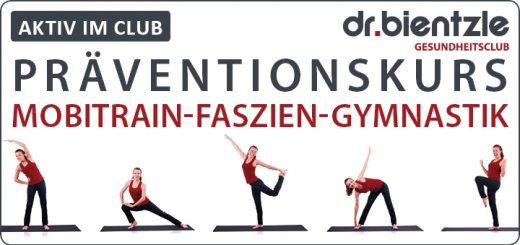 """Präventionskurs """"Mobitrain-Faszien-Gymnastik"""""""