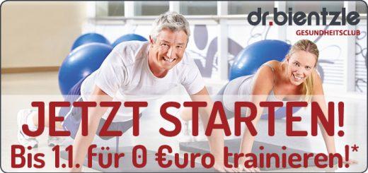 Jetzt STARTEN! Bis 1.1. für 0 Euro trainieren!